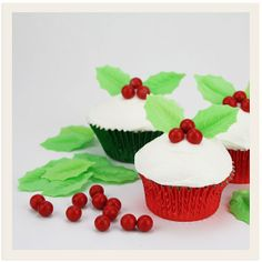 Holly Berry Decorating Set
