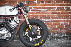 Beauty and the Beast - RocketGarage - Cafe Racer Magazine Yamaha Virago, Cb750, Custom Motorcycles, Custom Bikes, Yamaha Motorcycles, Ducati 996, Cafe Racer Magazine, Custom Cafe Racer, Gsxr 1000