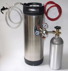 Cornelius Keg System: most common keg system used for tapping cocktails  #cocktailsontap