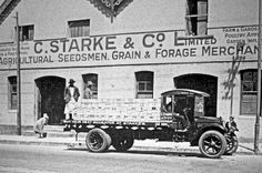 The premises of C.Starke & Co.Mowbray, early 1900s | Flickr - Photo Sharing!