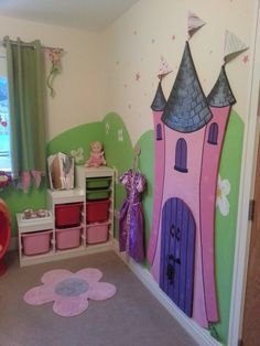 Princess theme bedroom :-)