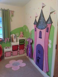 Princess theme bedroom :-)