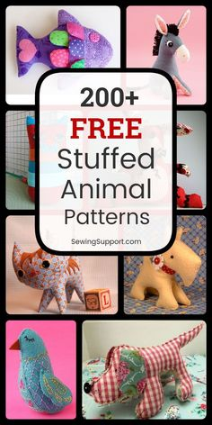 Most current Free of Charge easy Sewing patterns Thoughts Stuffed Animal Patterns to sew. Free Stuffed Animal patterns, tutorials, and diy sewing proje Diy Sewing Projects, Sewing Projects For Beginners, Sewing Hacks, Sewing Tutorials, Sewing Crafts, Plushie Patterns, Animal Sewing Patterns, Easy Sewing Patterns, Softie Pattern