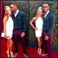 Hottest Wives and Girlfriends of NFL players Hottest Wags, Nfl Wives, Wide Receiver, Interracial Couples, Wife And Girlfriend, Girlfriends, Seahawks, Families