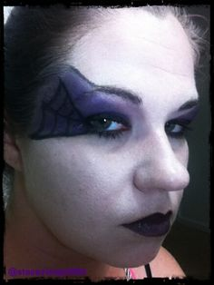 Halloween Makeup Store this easy halloween makeup tutorial will take a basic fairy costume to the next level Halloween Makeup Tutorial Purple Witch Using Drug Store Makeup