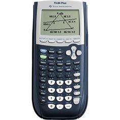 Texas Instruments Plus Graphing Calculator offers more power for working on math.The Texas Instruments Plus Graphing Calculator offers a large display for showing graphs and charts. Calculator Words, Back To School Deals, Mortgage Calculator, Battery Sizes, Calculus, Algebra 1, School Supplies, Office Supplies, Usb
