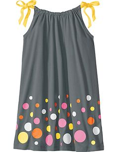 Soft Jersey Pillowcase dress, like the look of the jersey fabric