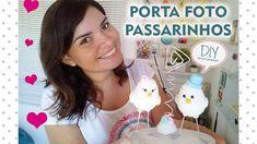 DIY Dia dos Namorados - Porta foto Passarinhos