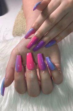 In search for some nail designs and ideas for your nails? Here is our list of 29 must-try coffin acrylic nails for stylish women. Gorgeous Nails, Love Nails, Fun Nails, Pretty Nails, Easy Nails, Cute Acrylic Nails, Acrylic Nail Designs, Nail Art Designs, Nails Inspiration