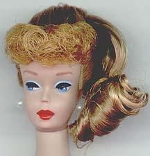 My Barbie was a redhead. My mom knit so many clothes for my doll & I still have them.