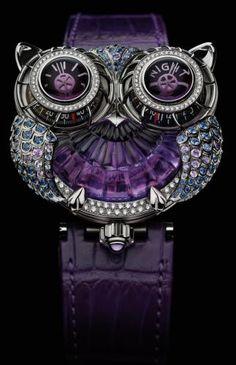 Purple Owl Watch - I WANT, I WANT!!!