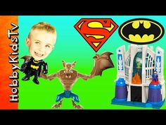 Imaginext BATMAN + Superman TOYS! Mini Mystery Funko Pop Toys Review by ... Superhero Shows, Funko Pop Toys, Batman And Superman, New Shows, Nintendo 64, Mystery, Logos, Mini, Youtube