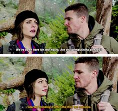 Oliver & Thea #Arrow #TheReturn