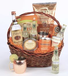 The Tito Moscow Mule Gift Basket - Crown Wine & Spirits
