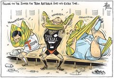 ABBOTT TEAM AUSTRALIA FADING INTO POLITICAL OBLIVION Cartoon by David Pope.
