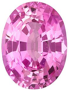 Genuine Pink Sapphire Loose Gemstone, Oval Cut, 7.8 x 5.9 mm, 1.43 Carats at BitCoin Gems