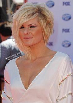Kimberly Caldwell-hair