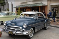 1950 chevy belair hardtop with sun visor. Vintage Trucks, Old Trucks, Rat Rods, Old American Cars, American Auto, Automobile, Volkswagen, Toyota, Chevrolet Bel Air