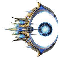 Starcraft Protoss Tempest by voidwar