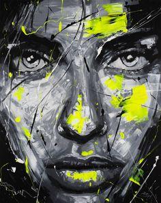 "Saatchi Art Artist Robin Declercq; Painting, ""DESIRE"" #art"
