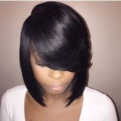 STYLIST FEATURE Pretty and classic bob hairartistrybybri  boblife bangs portlandstylist pdxstylist voiceofhair