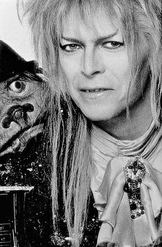 Bowie Labyrinth, Labyrinth Movie, Bowie Starman, Goblin King, 80s Movies, George Harrison, David Jones, Rock Stars, David Bowie
