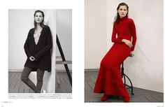 visual optimism; fashion editorials, shows, campaigns & more!: herbstsinfonie: viky kaya by nicolas valois for madame germany july 2015