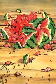 The Watermelon Messiah 5/5 by Katsuhiro Otomo img009.jpg (2196×3262)