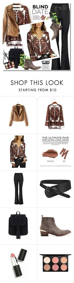 """""""What to Wear: Blind Date"""" by svijetlana ❤ liked on Polyvore featuring Urban Decay, Sigma Beauty, MAC Cosmetics, vintage, women's clothing, women, female, woman, misses and juniors"""