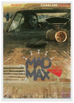 Mad Max - Fury Road movie poster