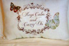 White Linen Pillow  decorative pillow  by JulieButlerCreations, $15.00