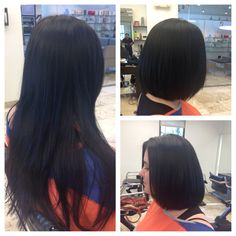 Before and after. Hair by Jayma