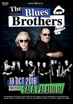 The Original Blues Brothers Band - 18 Oct 2016 Blues Brothers Band, Le Chef, Relax, Entertainment, Rock, The Originals, Concert, Movies, Movie Posters