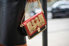 A Cavalli bag that makes just enough of a statement.
