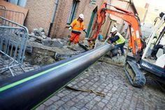 Imagem do dia: Cidade belga está a construir primeira rede subterrânea de tubagens para distribuição de cerveja