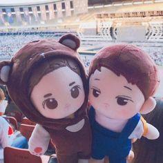 EXO Doll KaiSoo Couple Doll, K-Wave on Carousell