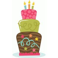 svg cuts svgs cuttables miss kate cricut silhouette pazzles cut files scrapbooking cute clipart free svgs Birthday Clips, Art Birthday, Birthday Images, Birthday Quotes, Happy Birthday Clip Art, Birthday Greetings, Birthday Wishes, Cake Clipart, Happy B Day