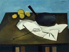William Scott, Still Life Composition, 1946, Oil on canvas, 50.8 × 61 cm / 20 × 24 in, Whereabouts unknown