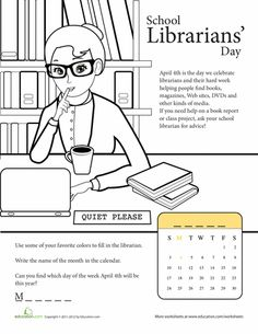 Library Activities and Library Cards - Theme Unit - Printables ...