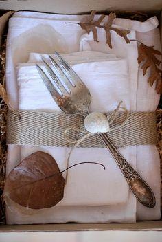 ...for an Autumn table...
