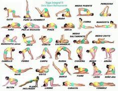 """Nociones preliminares acerca de las posturas de Yoga: Las posturas de Yoga se denominan en sánscrito """"asanas"""" y constituyen el tercer paso luego de los códigos morales y éticos (yamas y niyamas). A…"""