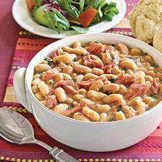 White Bean Soup Recipe | use smoked turkey