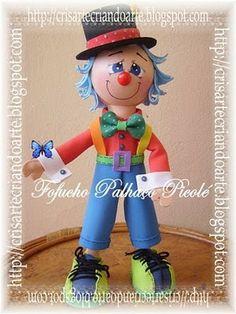 Fofucho Popsicle Clown