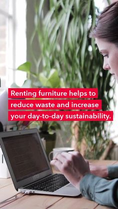 Whether you're working remotely temporarily or long-term, here are a few ways to be eco-friendly. #CORTatHome Work From Home Tips, Reduce Waste, Office Style, Home Hacks, Sustainability, Eco Friendly, Office Attire, Sustainable Development, Office Fashion