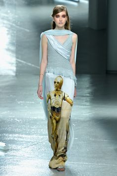 These Rodarte Star Wars Dresses Win Fashion Week
