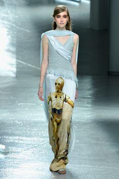 These Rodarte Star Wars Dresses Win Fashion Week
