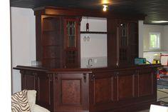 Beautiful Built In Home Bar