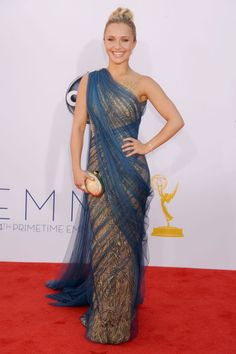 The Very Best Looks From The 2012 Emmy Red Carpet- Hayden Panettiere in Marchesa