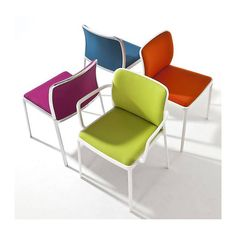 Audrey Soft Armchair (Set of 2) by Kartell