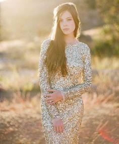 21 Preciosos Vestidos de Novia de color Dorado